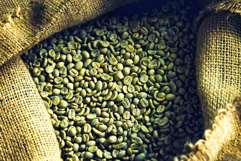 напиток зеленого кофе