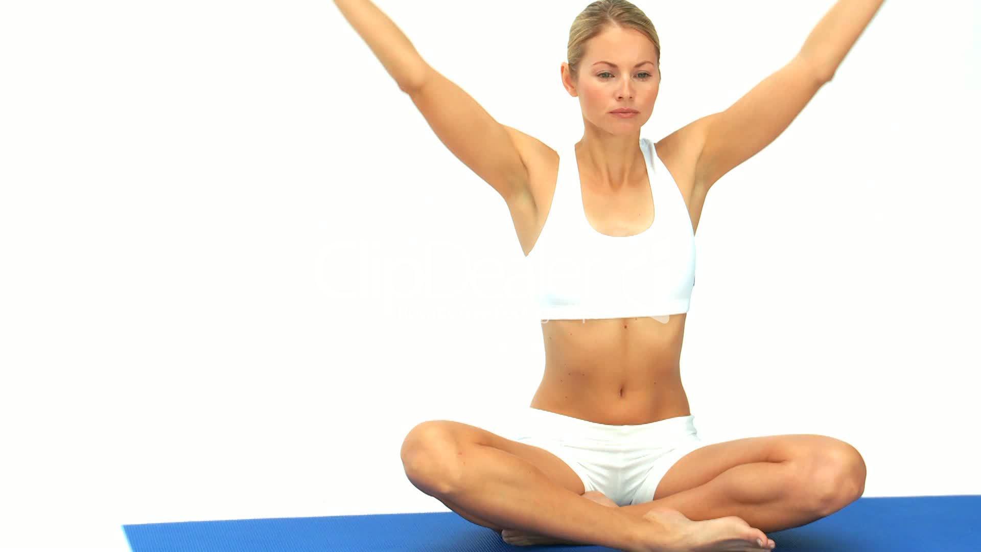 Дыхательное упражнение для похудения видео