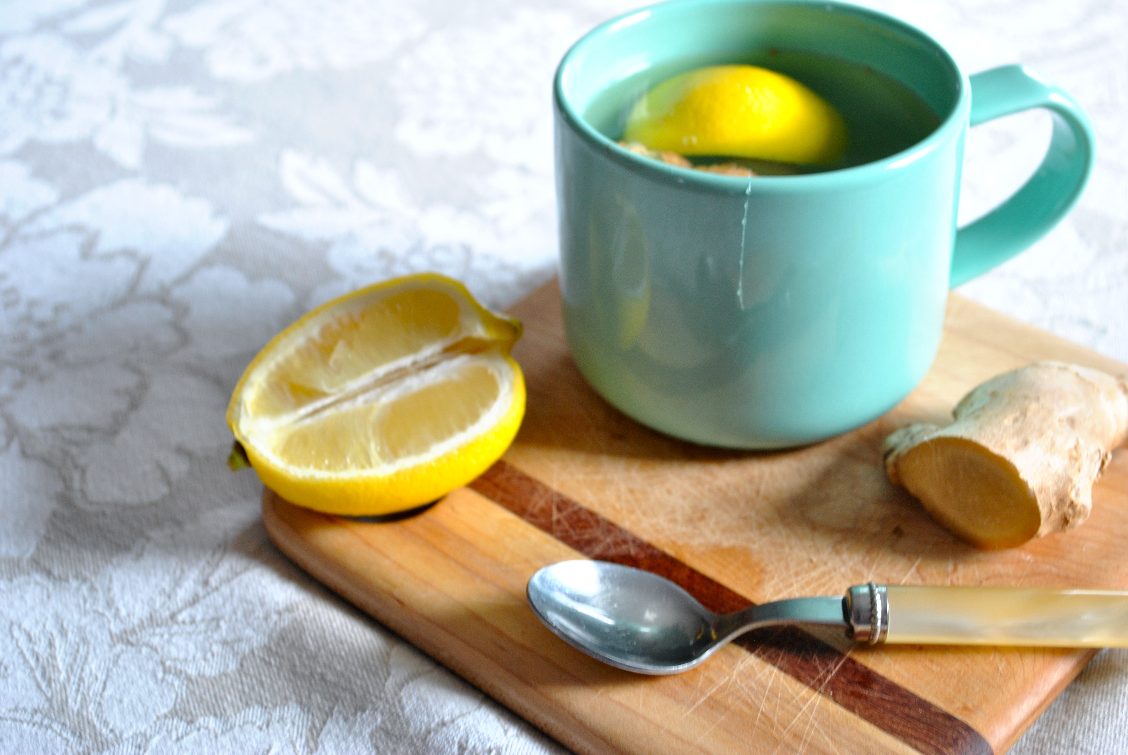 Чай с лимоном для похудения