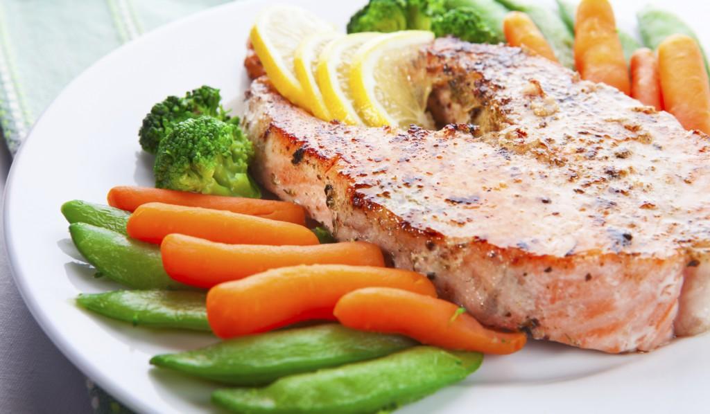Белок и овощи для похудения
