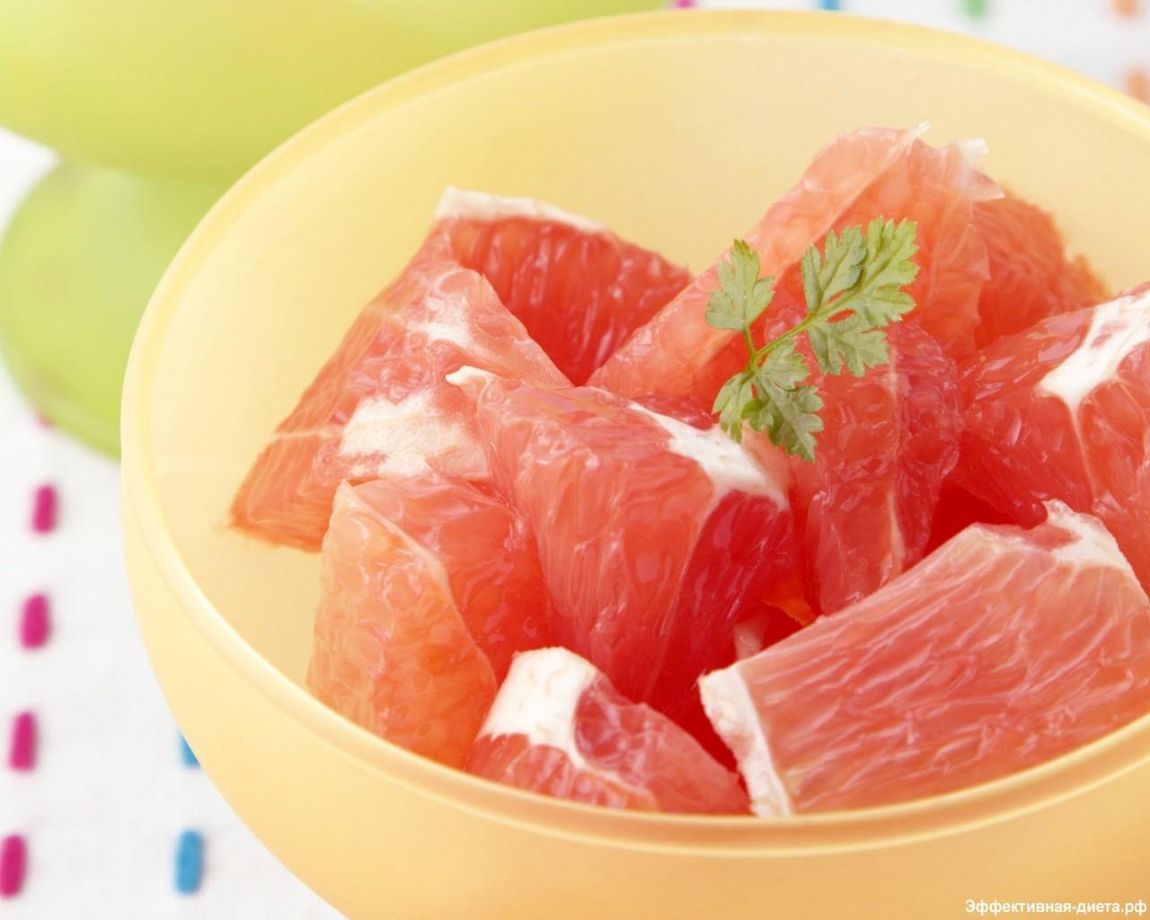 Недельная грейпфрутовая диета