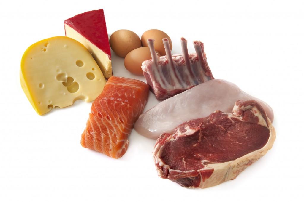 Белковая пища для мышц и похудения