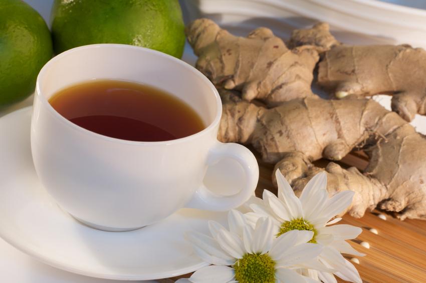 для похудения живота чай