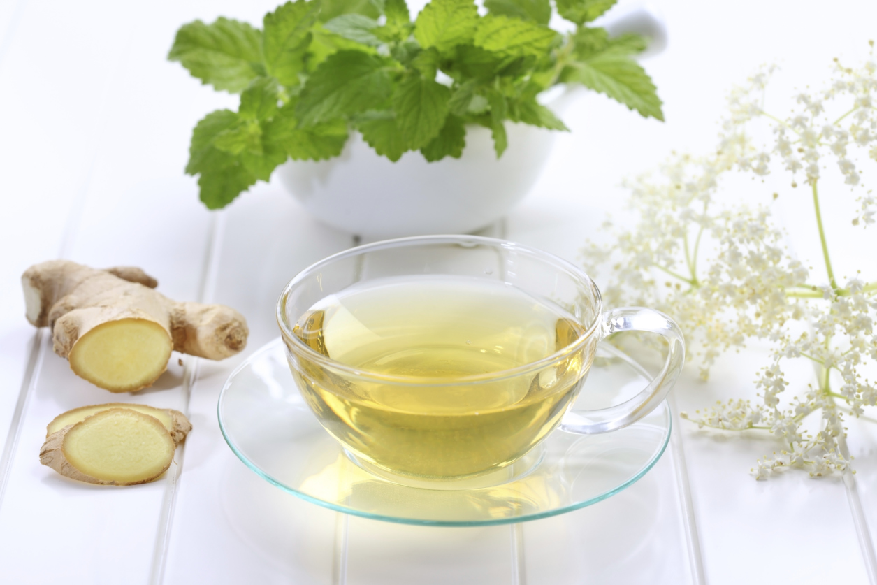 Имбирный чай – «волшебная палочка» для похудения