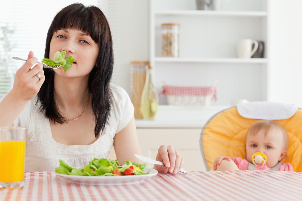 питание после родов чтобы похудеть