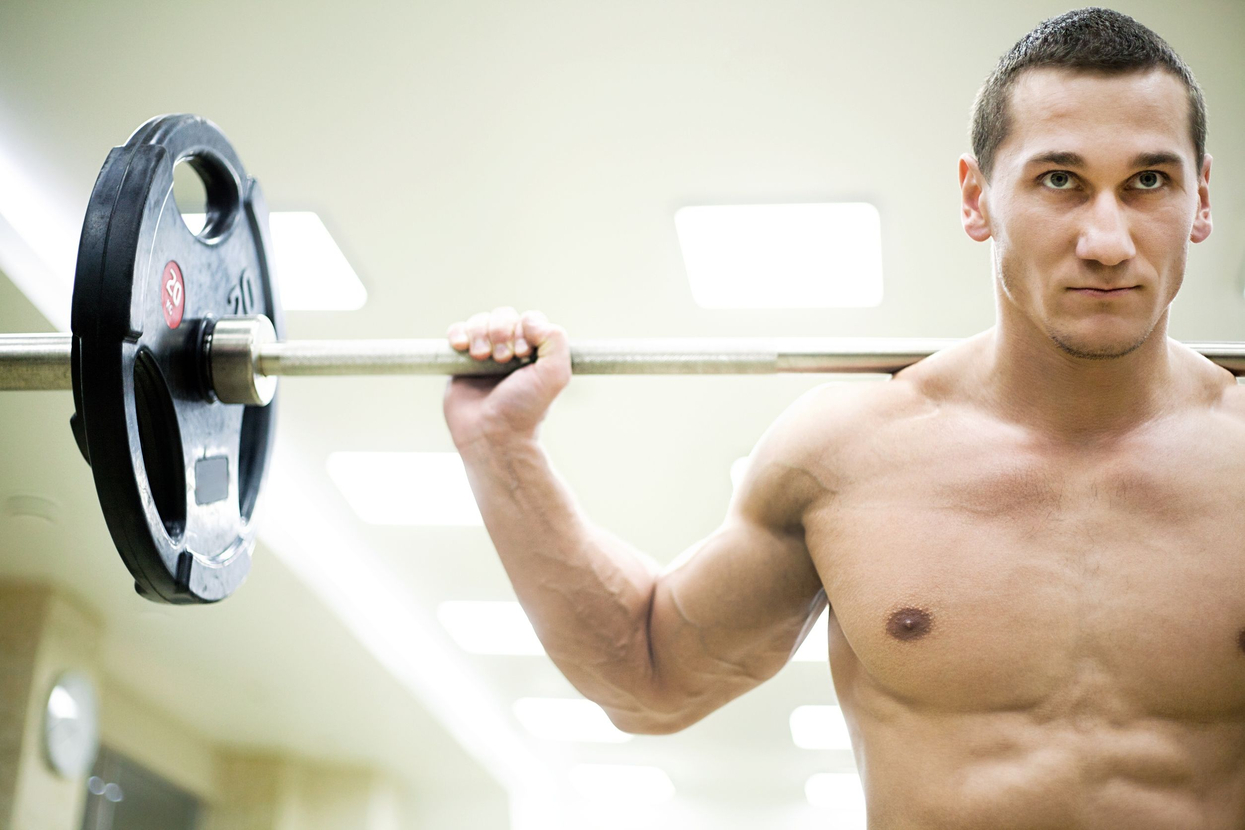 Физические нагрузки - мужские диеты