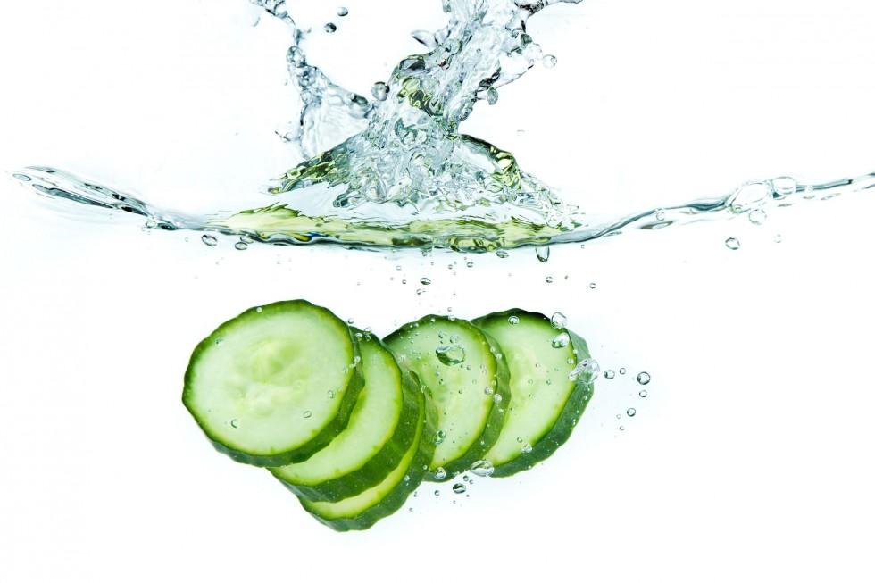 Вода с огурцом для похудения