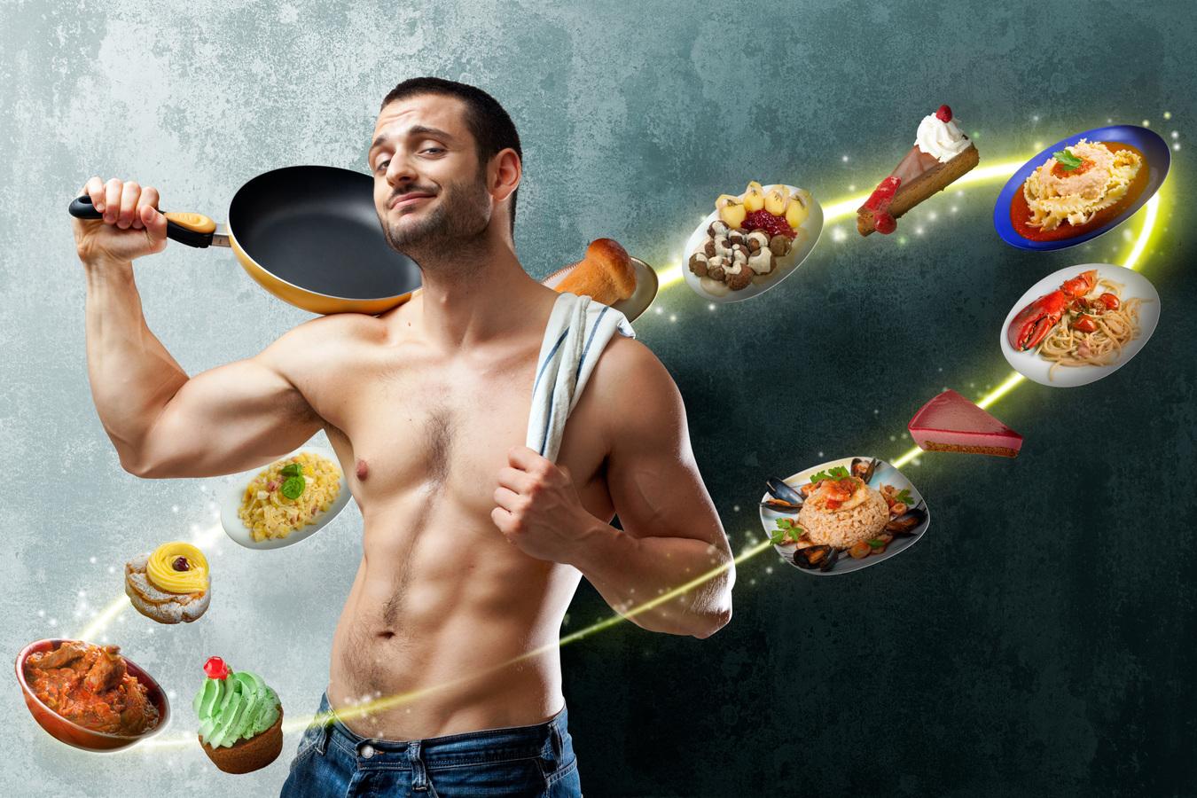 Эффективная диета для мужчин от живота