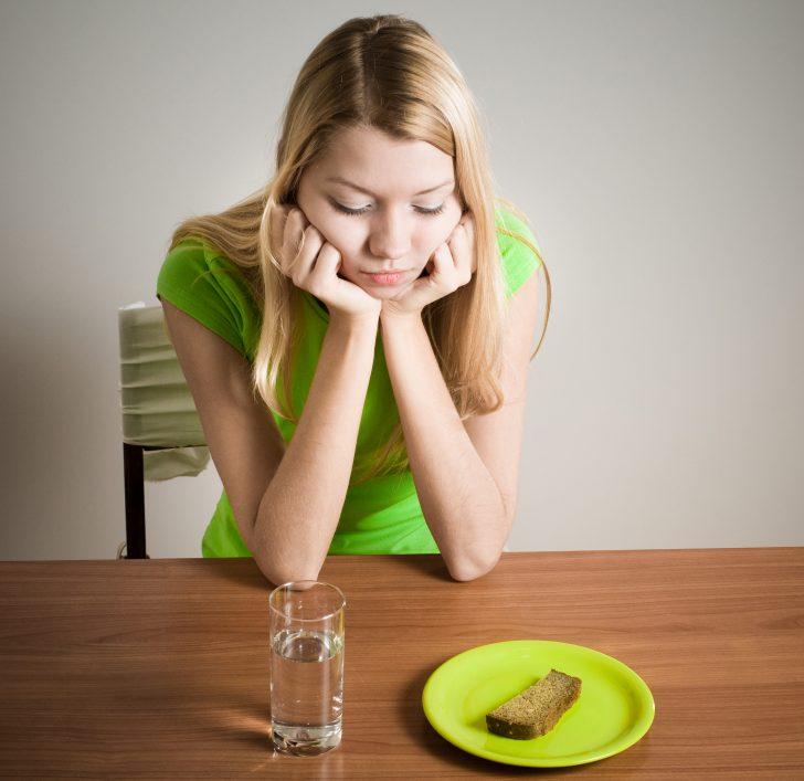 Примерное меню химической диеты на день