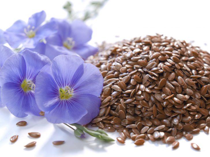 Семена льна для косметических целей