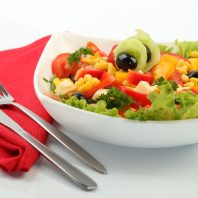 Свежая диета на овощных салатах — питаемся полезно