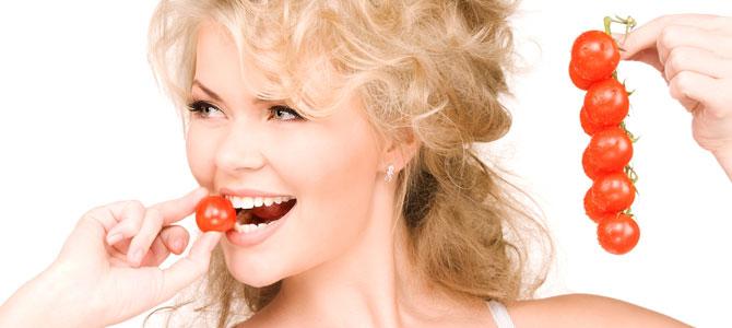 Главные правила диеты на томатах