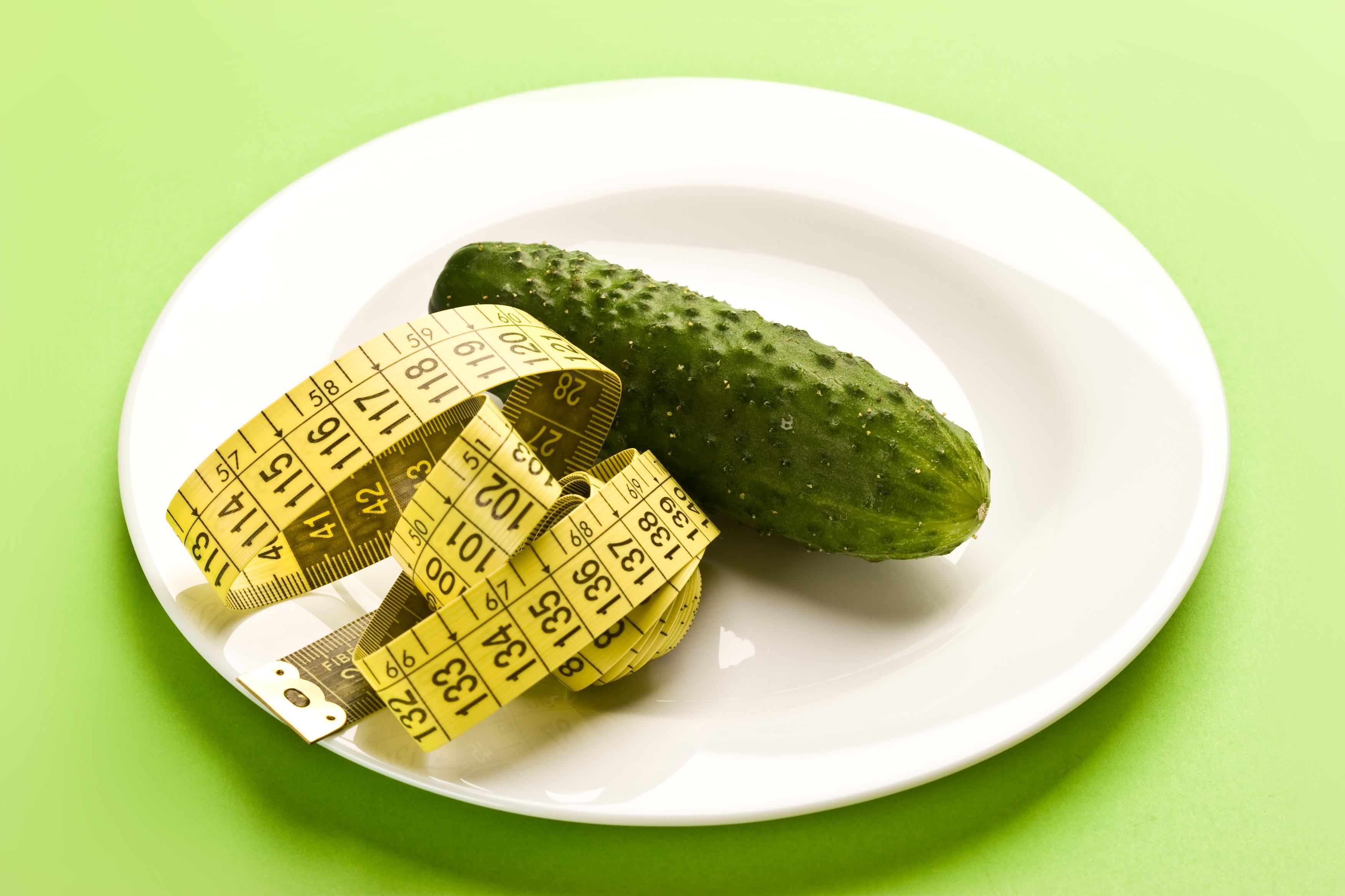 Разгрузочные дни для похудения на огурцах