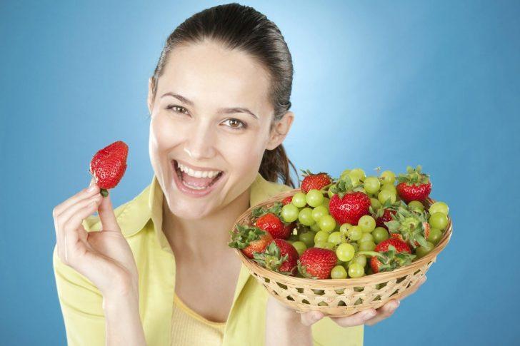 Расписание диеты для здоровой кожи