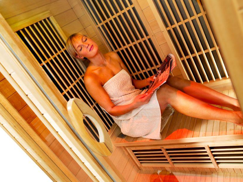Инфракрасная сауна для похудения, отзывы и результат использования сауны для похудения
