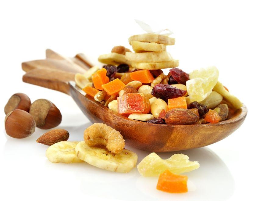Простая диета на сухофруктах и орехах