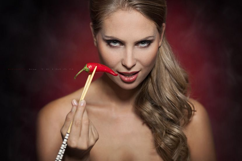 Как использовать красный перец для волос?