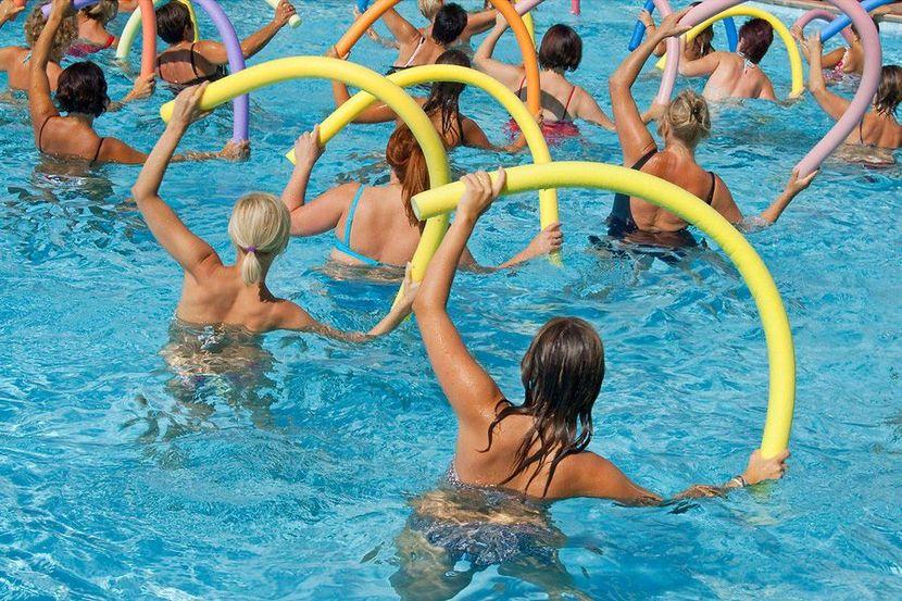 Как похудеть в бассейне? Упражнения