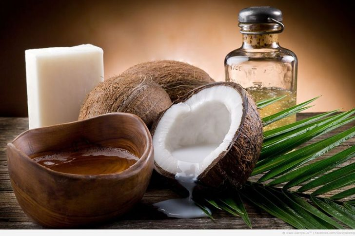 Кокосовое масло: маска для волос от выпадения