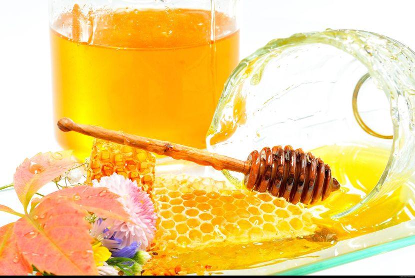 мед для очищения организма