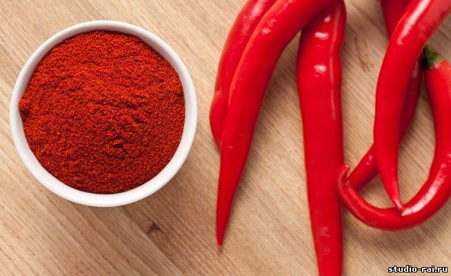 Обертывание с красным перцем
