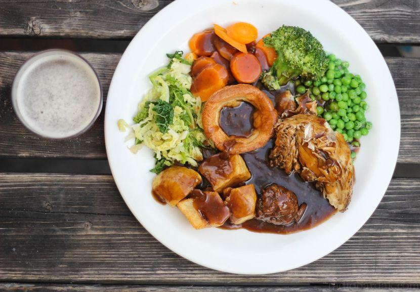 Английская диета на день
