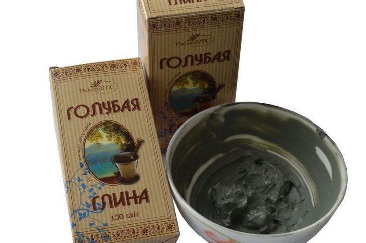Голубая глина для лица и волос: полезные свойства и способы применения