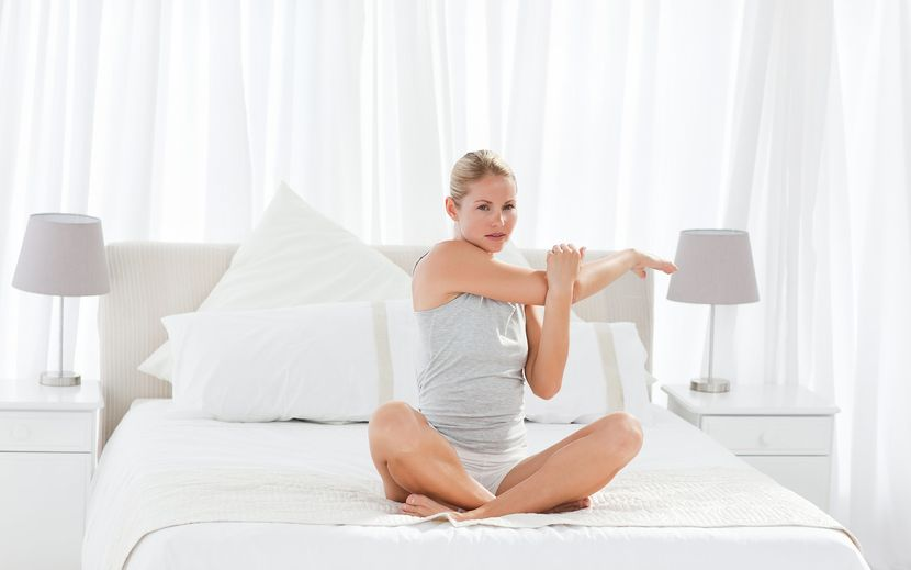 Комплекс утренней зарядки для похудения