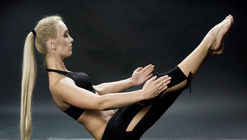 как убрать жировые складки со спины упражнения