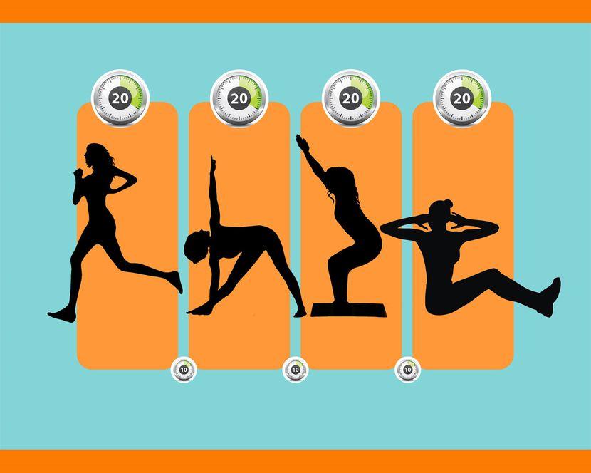 табата-упражнениях для начинающих