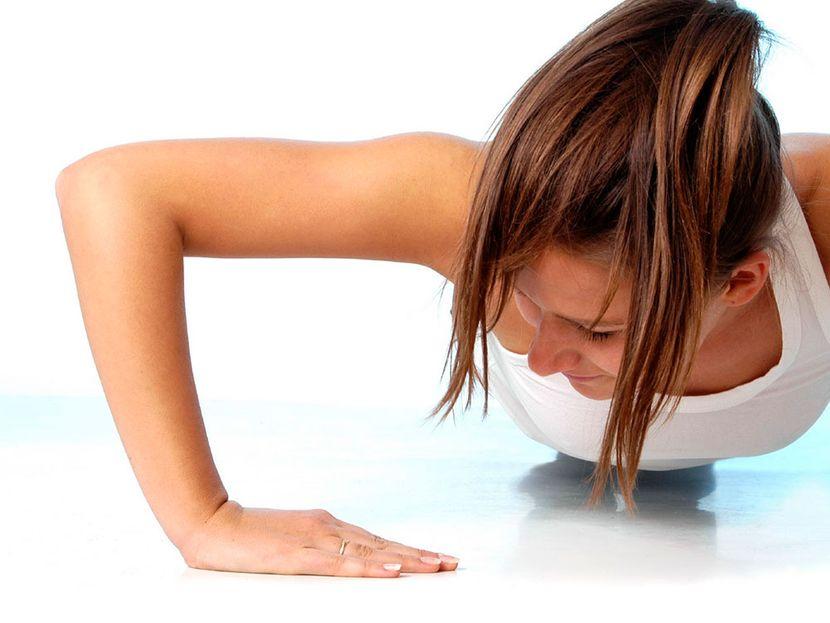 Гимнастика для подтяжки груди