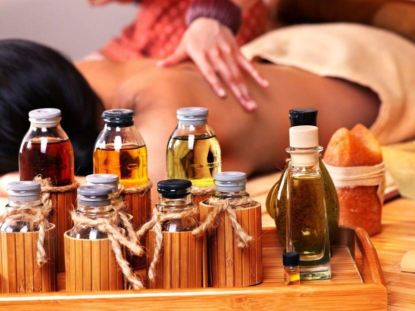 Массажное масло для похудения