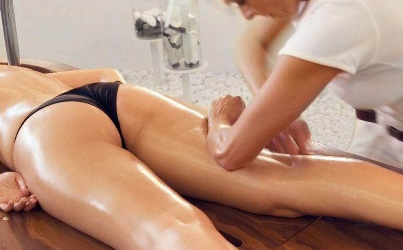 Техника антицеллюлитного массажа своими руками