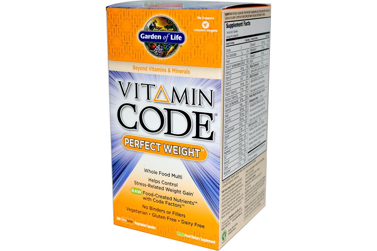 Витаминный комплекс Идеальный вес Garden of Life, Vitamin Code