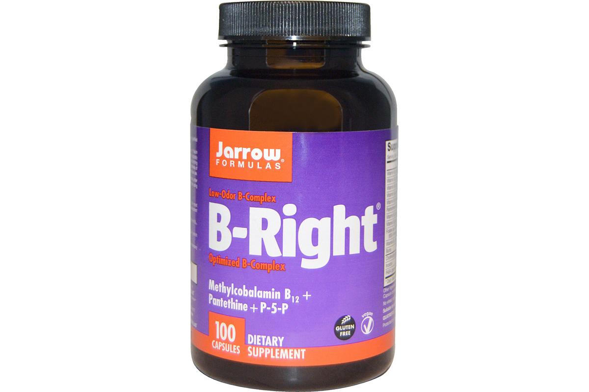 Комплекс витаминов группы В B-Right от Jarrow Formulas