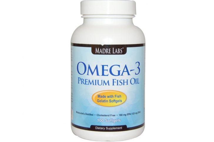 Премиальный рыбий жир от Madre Labs