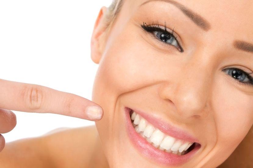 Белая диета для зубов