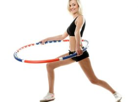 Упражнения с хула-хупом для похудения