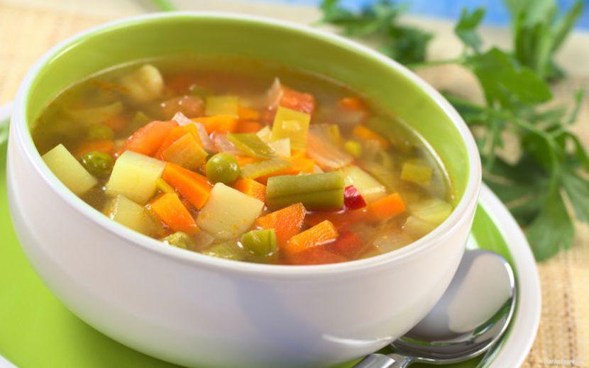 Вегетарианские супы диета 5