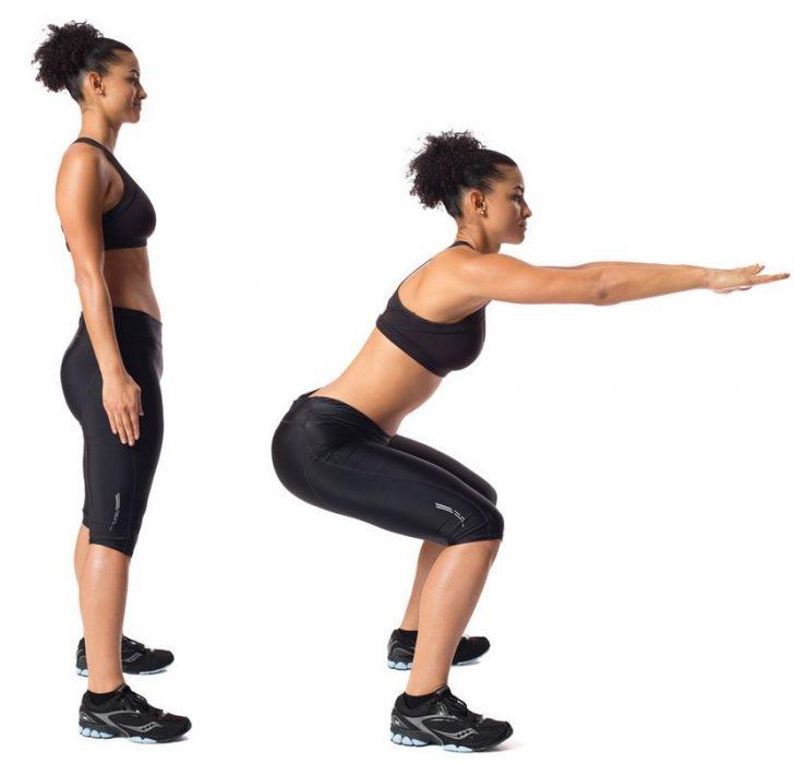 лучшие упражнения, позволяющие похудеть дома.