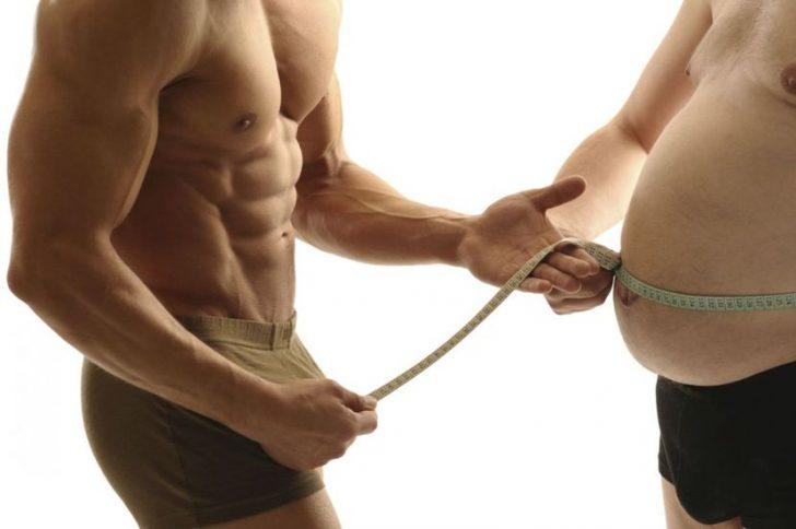 Упражнения для похудения живота мужчине
