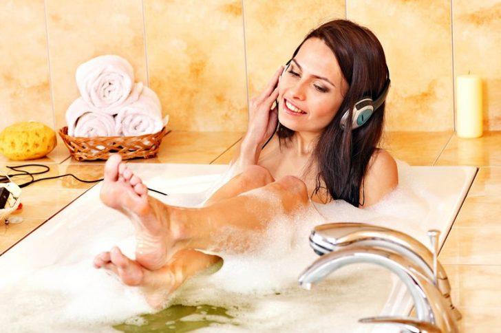 Упражнения в ванной для похудения