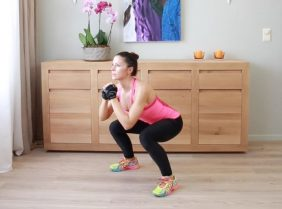 Приседания для похудения ног