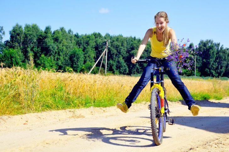 Велосипед для похудения: в чем польза?