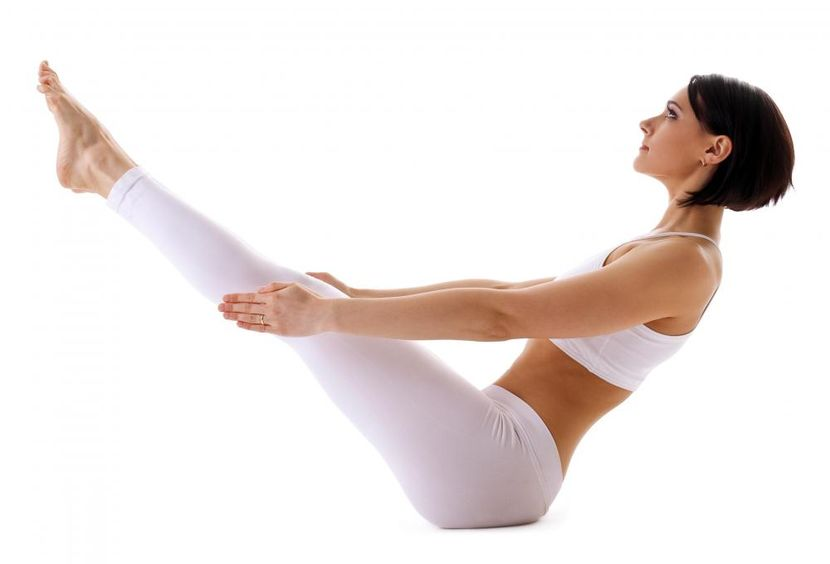 Йога упражнения для похудения