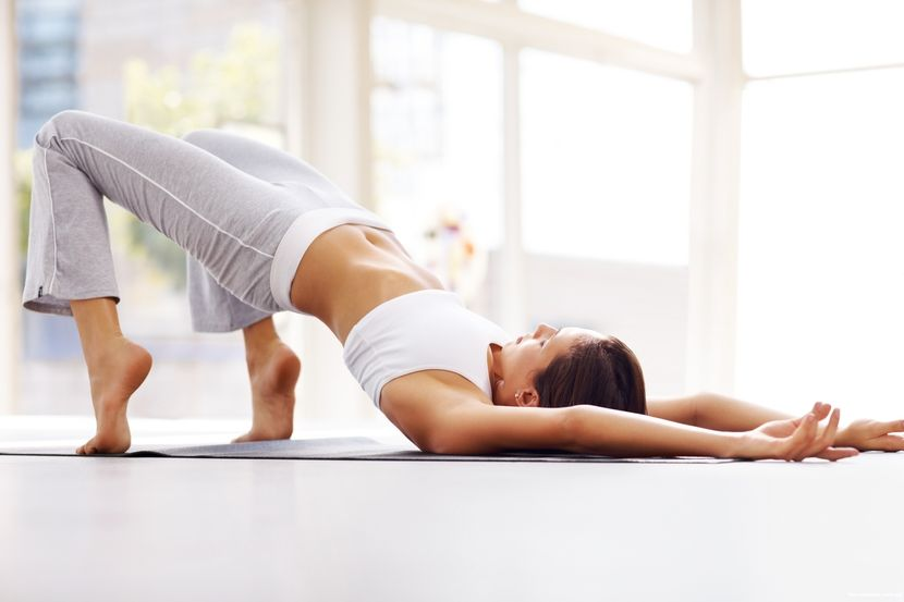 Упражнение, убирающее все лишнее с нижней части живота