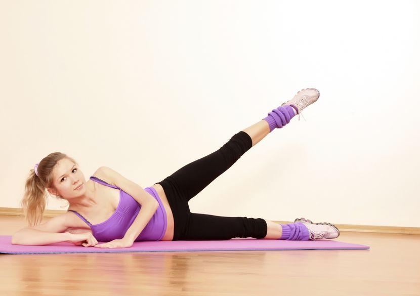 Зарядки для похудение ног