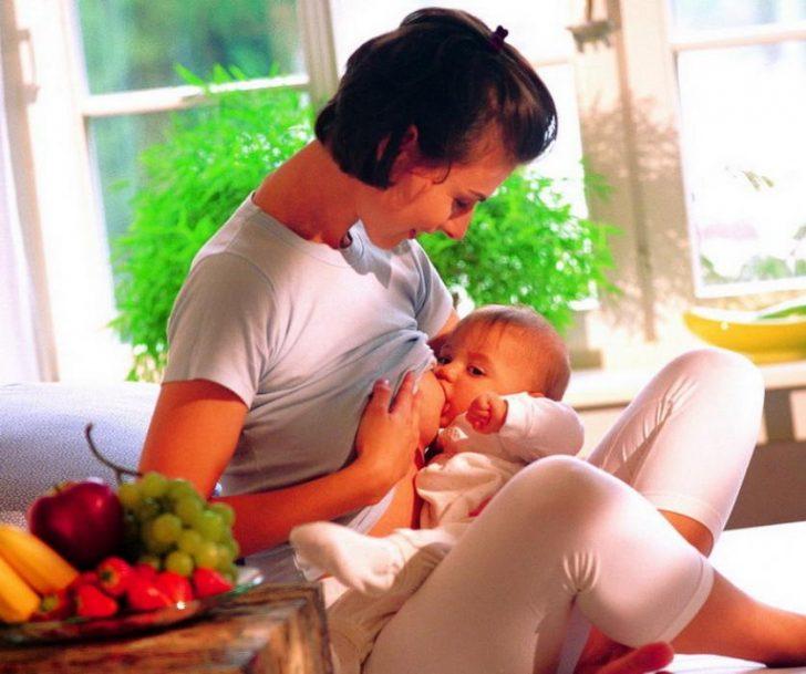 Диета кормящей мамы первый месяц