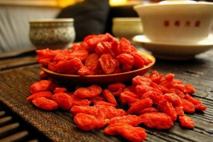 Коктейль для похудения из ягод годжи