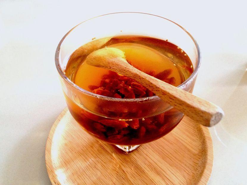 распространенный рецепт коктейля с ягод годжи